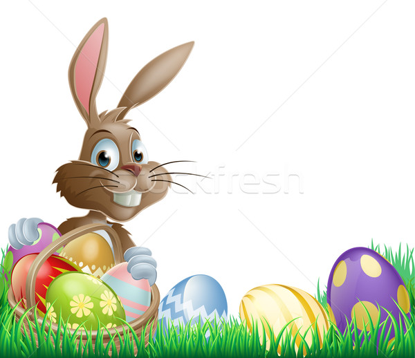 Isolated Easter footer design Stock photo © Krisdog