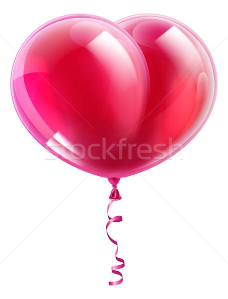 Heart Shape Balloon Stock photo © Krisdog