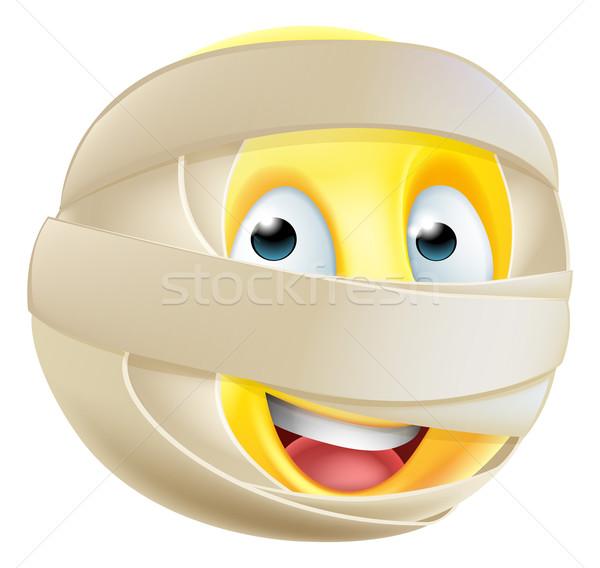 Mummy Emoji Emoticon Stock photo © Krisdog