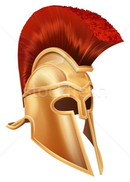 Trojan Helmet Stock photo © Krisdog