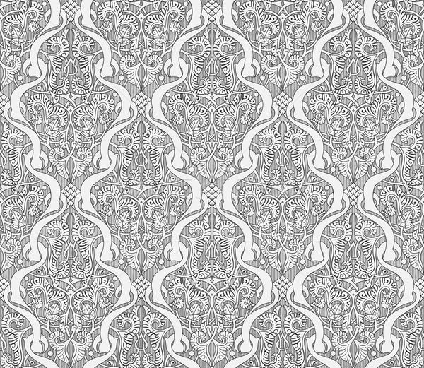 Art noveau estilo padrão flores Foto stock © Krisdog
