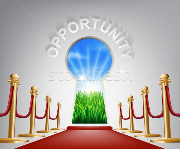 Opportunity conceptual illustration Stock photo © Krisdog