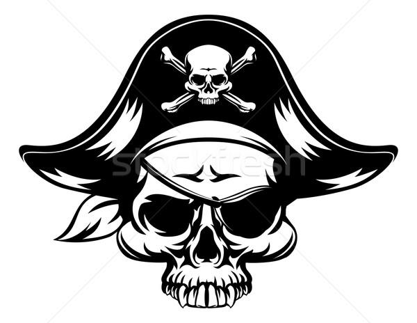 Skull Pirate  Stock photo © Krisdog