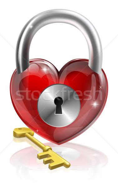 Key to your heart Stock photo © Krisdog