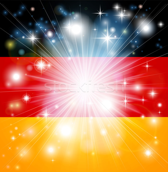 German flag background Stock photo © Krisdog