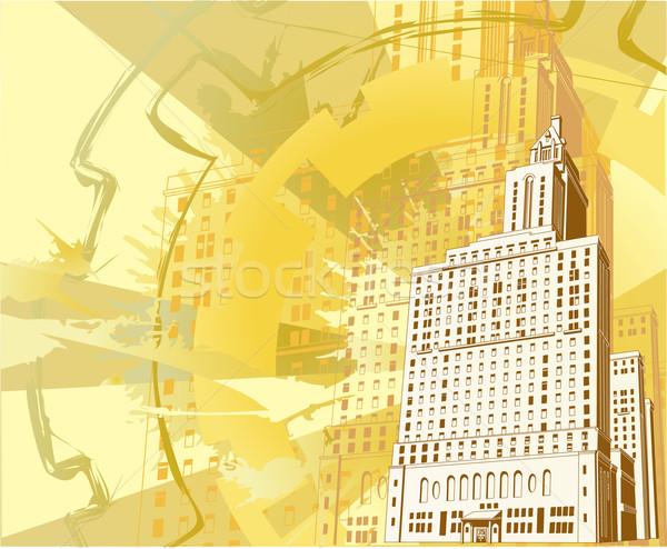 urban building background Stock photo © Krisdog