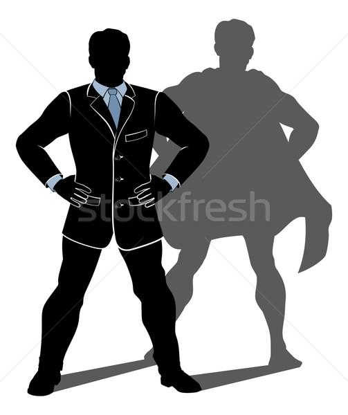 Super Hero Business Man Stock photo © Krisdog
