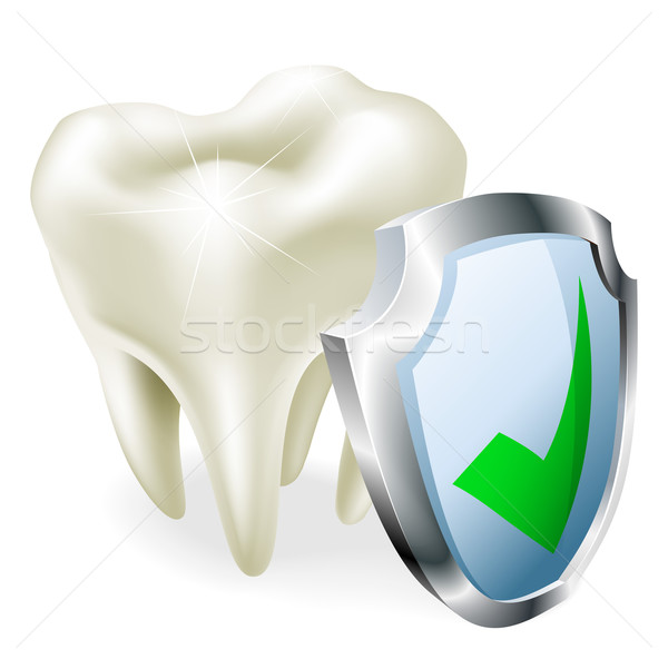 Tooth protection concept Stock photo © Krisdog