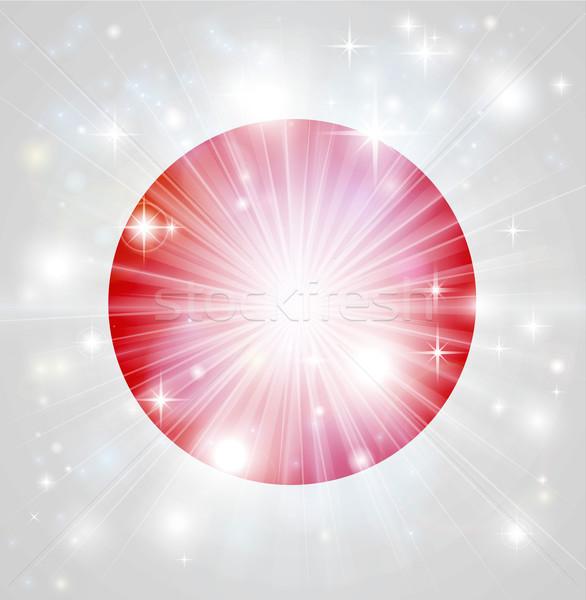 Japanese flag background Stock photo © Krisdog