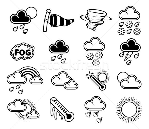 Weather Icons Stock photo © Krisdog