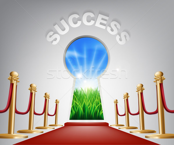 Success conceptual illustration Stock photo © Krisdog