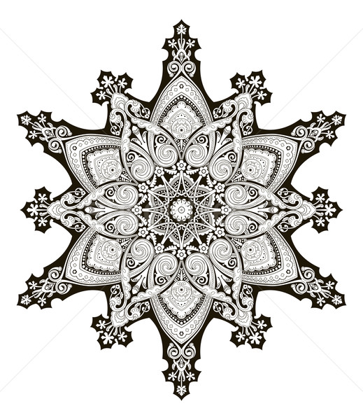 Arabic floral pattern motif Stock photo © Krisdog