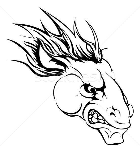 Horse mascot character Stock photo © Krisdog