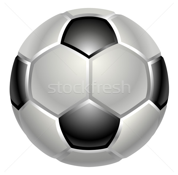 football or soccer ball icon Stock photo © Krisdog