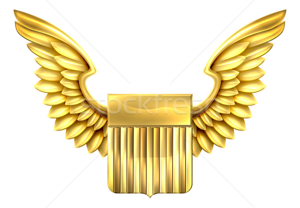 United States Winged Shield  Stock photo © Krisdog