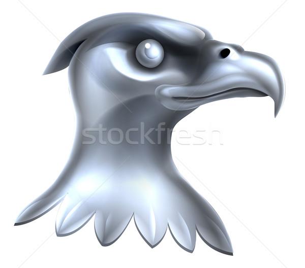 Metal Eagle Head Concept Stock photo © Krisdog