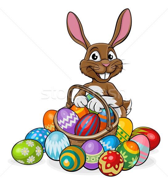 Egg Hunt Easter Bunny  Stock photo © Krisdog