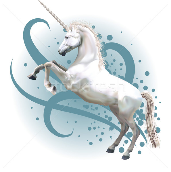 unicorn illustration Stock photo © Krisdog