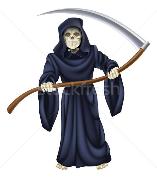 Grim Reaper Death Skeleton Stock photo © Krisdog