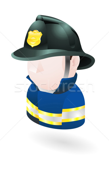 fireman illustration Stock photo © Krisdog