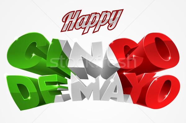 Happy Cinco De Mayo Stock photo © Krisdog