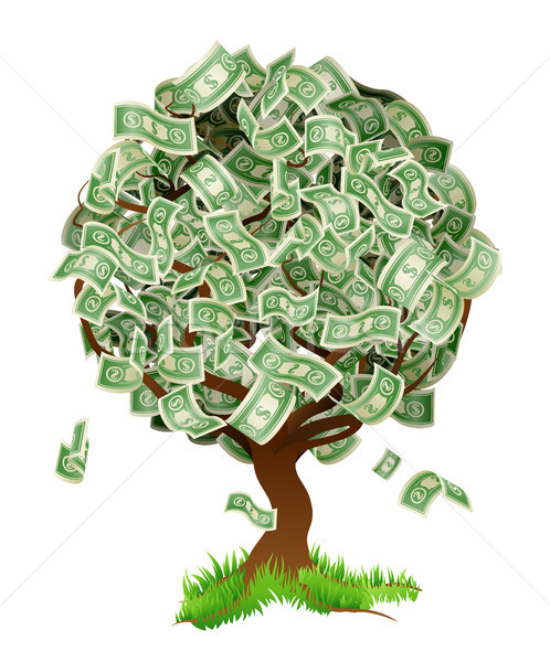 Money Tree Stock photo © Krisdog