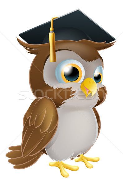 Graduate Owl Stock photo © Krisdog