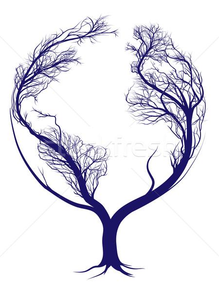 Earth tree Stock photo © Krisdog