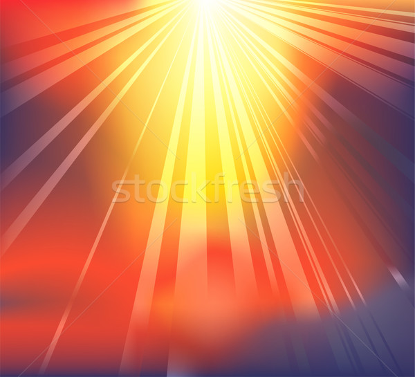Heavenly light background Stock photo © Krisdog