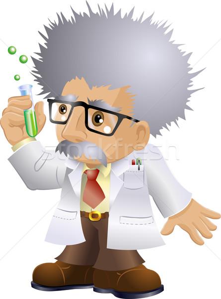Profesör örnek bilim adamı adam doktor Stok fotoğraf © Krisdog