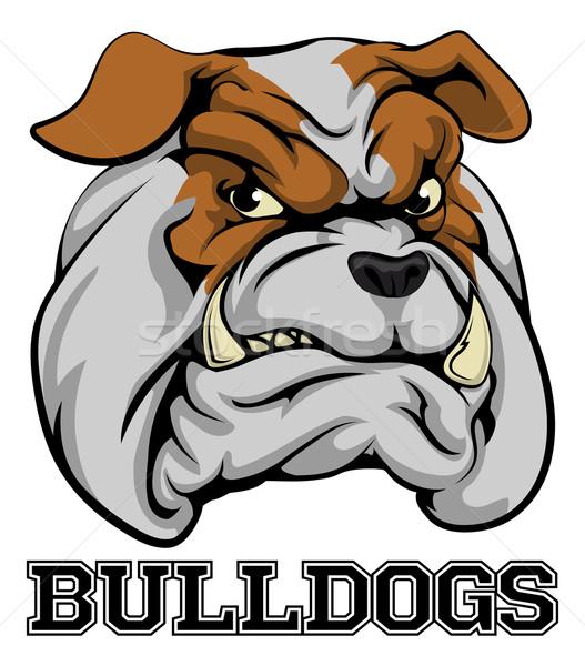 Bulldogs Sports Mascot Stock photo © Krisdog