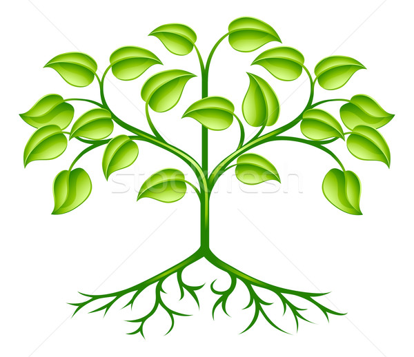 Stylised tree design Stock photo © Krisdog
