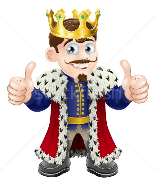 King cartoon Stock photo © Krisdog