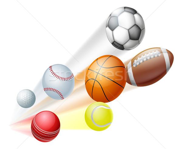 Sports balls concept Stock photo © Krisdog
