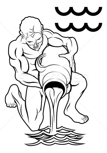 ゾディアック ホロスコープ 占星術 にログイン 実例 水 ストックフォト © Krisdog