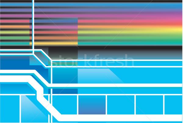 Retro neon 80s Stockfoto © Krisdog