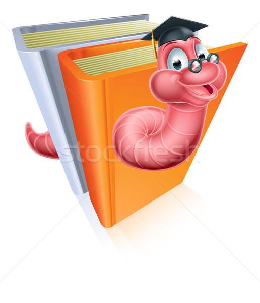 образование книжный червь совета окончания Сток-фото © Krisdog