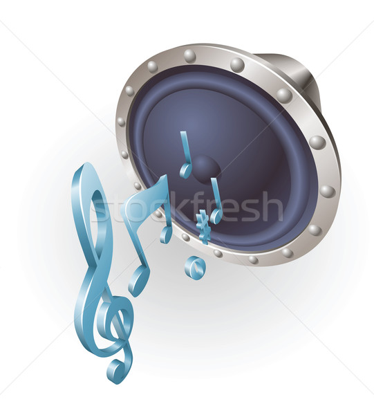 music speaker Stock photo © Krisdog