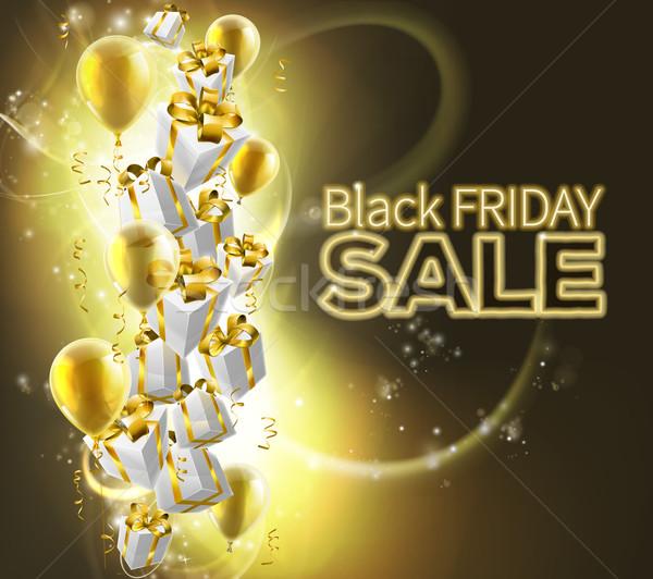 Stock photo: Black Friday Sale Background