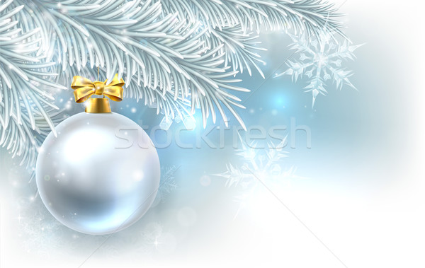 Christmas Tree Bauble Background Stock photo © Krisdog