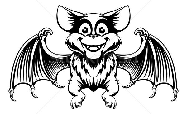Halloween Bat Stock photo © Krisdog