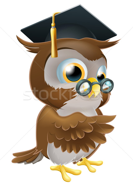 Professor owl Stock photo © Krisdog