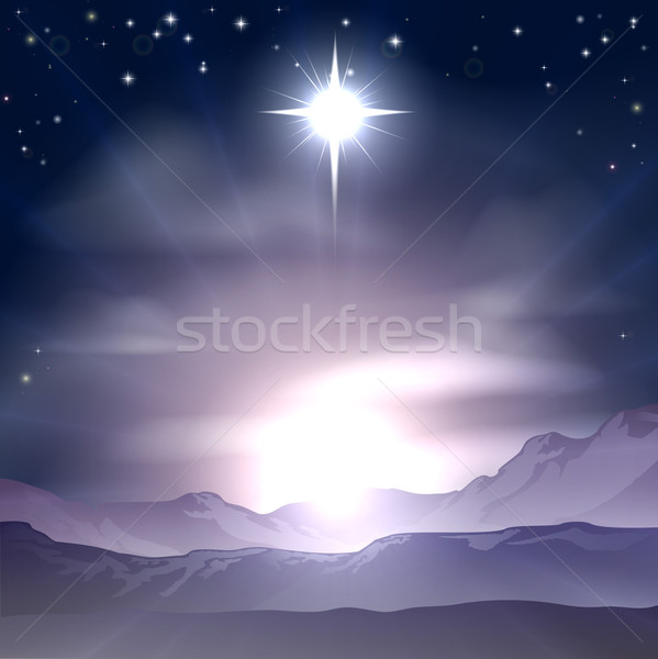 Christmas Star of Bethlehem Nativity Stock photo © Krisdog
