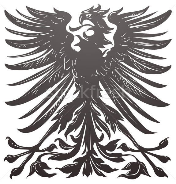 Stock photo: Imperial eagle design element