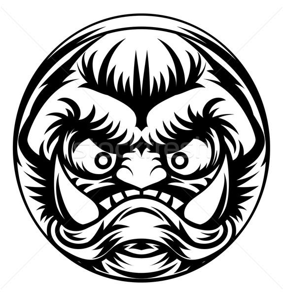 Troll or Monster Icon Stock photo © Krisdog