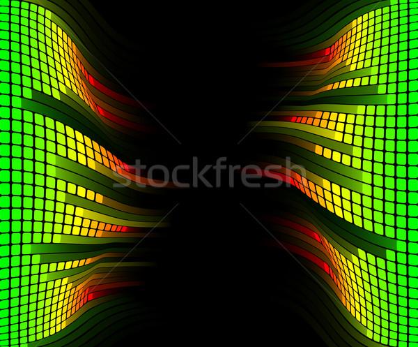 Equalizer music background Stock photo © Krisdog