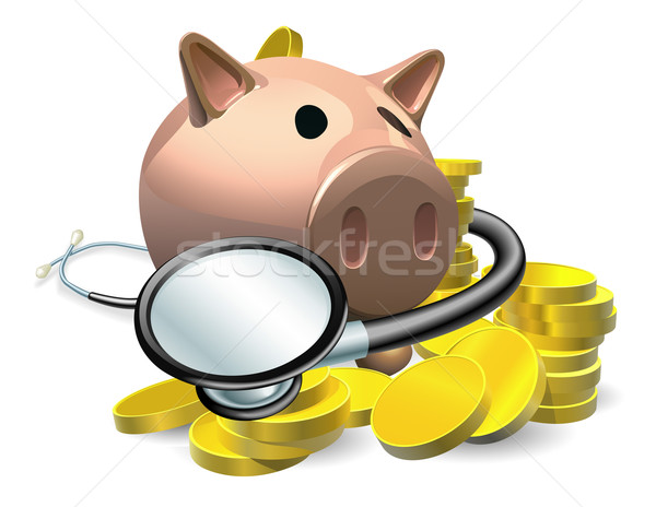 Financial health check concept Stock photo © Krisdog