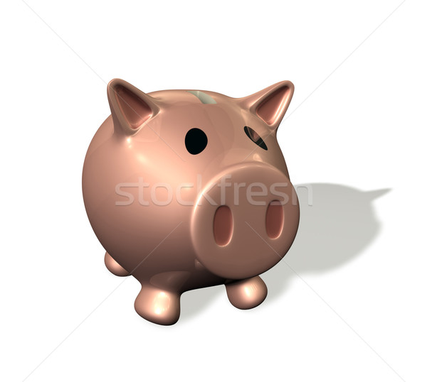 3d render piggy bank illustration Stock photo © Krisdog