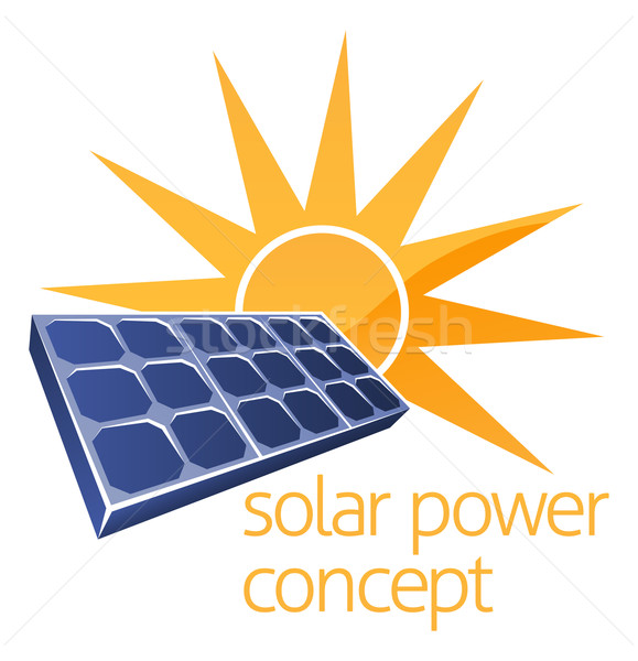 Solar Power Concept Stock photo © Krisdog
