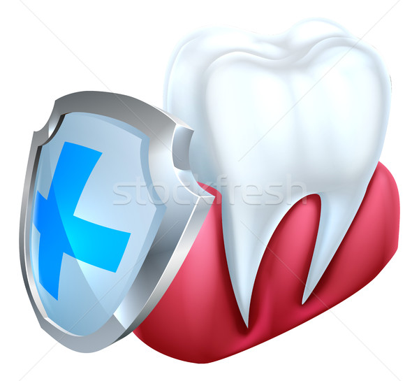 Tooth Gum Shield Concept Stock photo © Krisdog